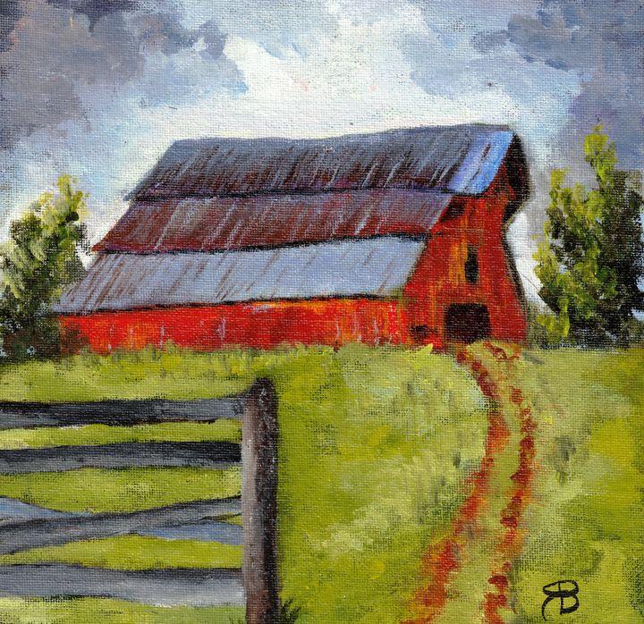 Rural TN Barn Series - No 5 - Robyn Barber Fine Art