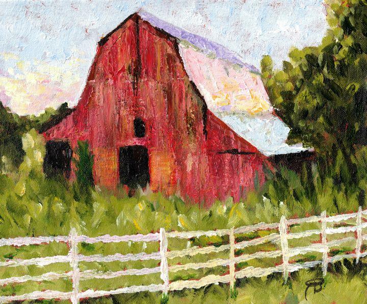 Rural TN Barn - No 15 - Robyn Barber Fine Art