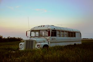 Adventure Bus - Green Tranquility Photography