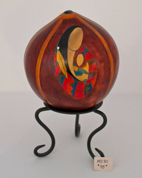 Woman and child - Marty's Gourd Dust