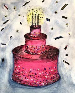 Princess Birthday Cake - Kolors By Kat