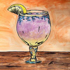 Desert Sunset Cocktail