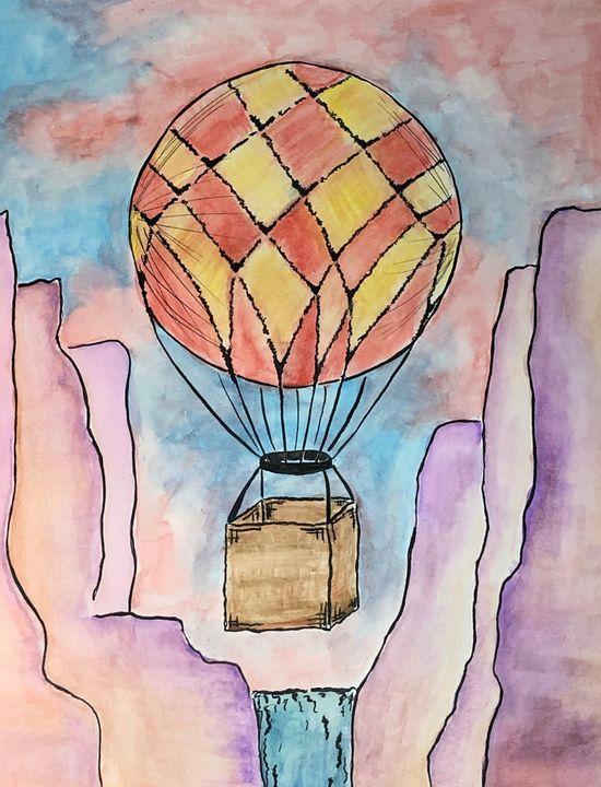 Canyon Balloon Ride - Kolors By Kat