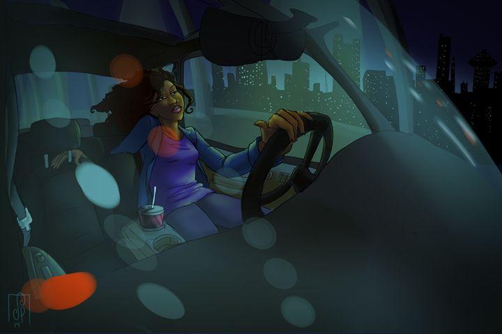Speedin' - Spice Princess Art
