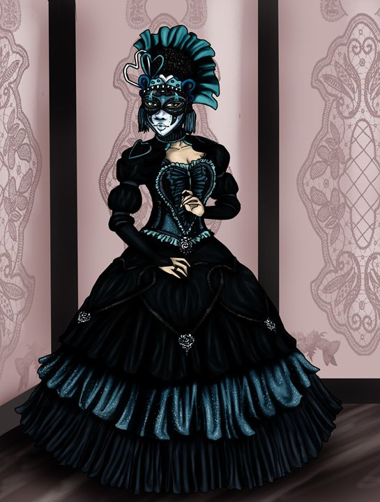 Masquerade Mystery - Spice Princess Art