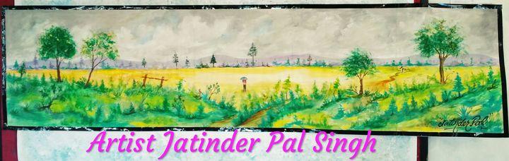 Landscape peaceful Large Size Water - Simar Arts