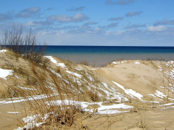 Lake Michigan beach - Michigan's Natural Beauty