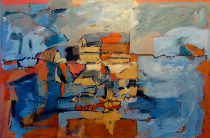 Coastal Town - Stewart Nicol Soutar