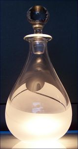 Borderline Teardrop Decanter - Stewart Nicol Soutar