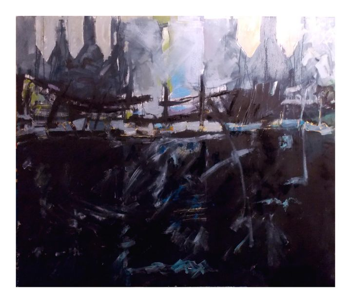 'The Harbour at Dystopia'. - Stewart Nicol Soutar