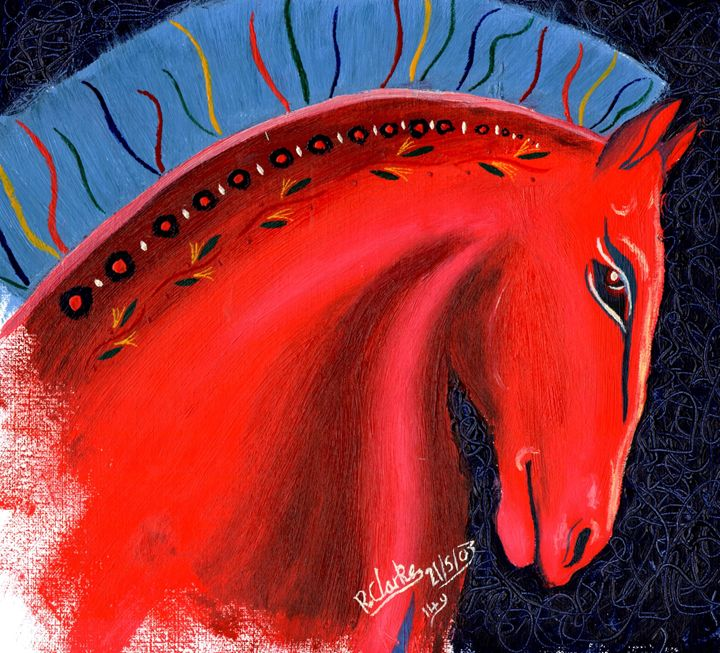 Trojan Horse - Rhiannon Clarke