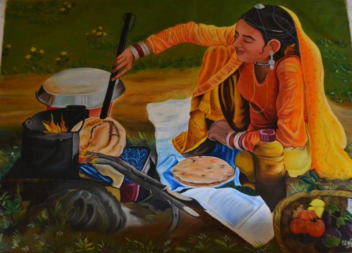 indian art - usha singh