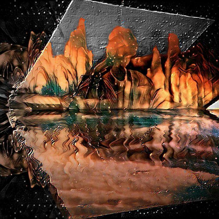Stream of colors - Sarah N Yoakum