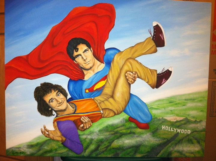 Robin Williams Christopher Reeve - Llanes