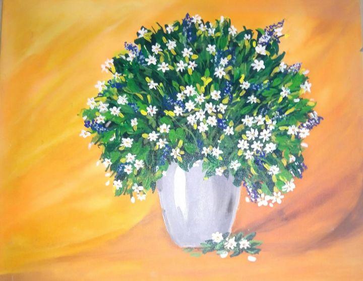 Floral Painting - Sayali
