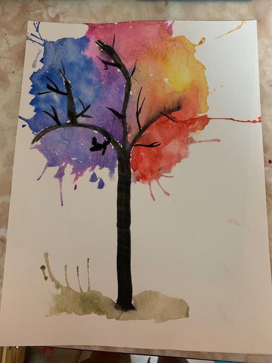 colourful tree - Isy