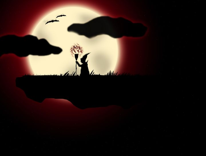 The Full Moon - Syed Mohammed Ali