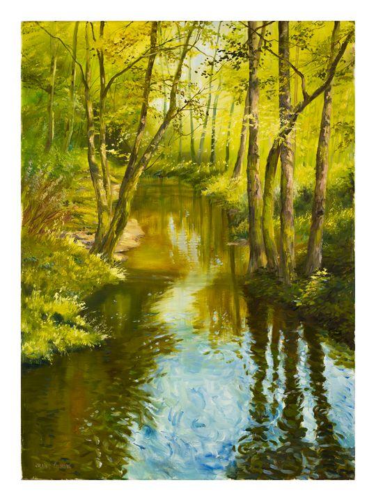 Spring creek - Karolina Cechova Prints