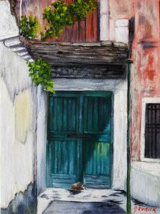 Corfu Art - The Forgotten Door