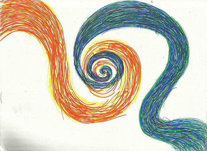Color Swirl - Sam's Artsy Fartsy Store