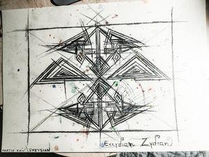 Symmetric Machine Vision Number 1
