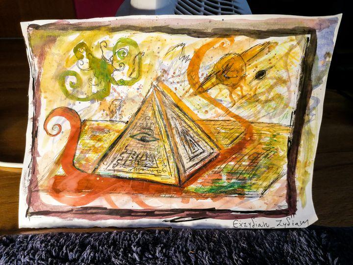 Pyramid of Reality :::)) - Exzydian Zydianish Collection XXX1