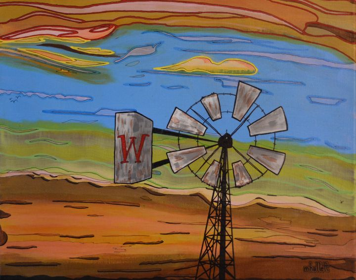 Willy's Windmill - Out-There Art