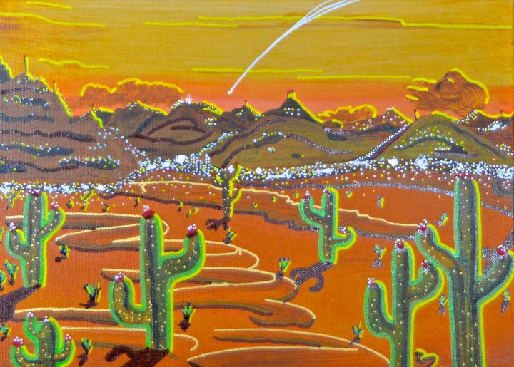 Desert Fly By - Out-There Art
