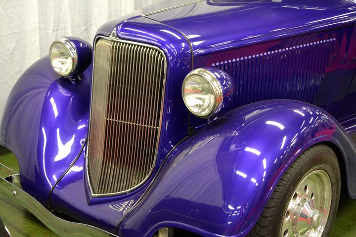Purple Hot Rod - Out-There Art