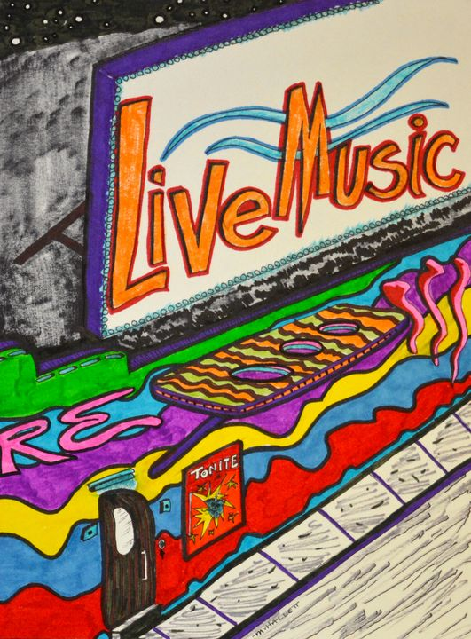 Live Music! - Out-There Art