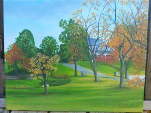 Early fall Pa's piece