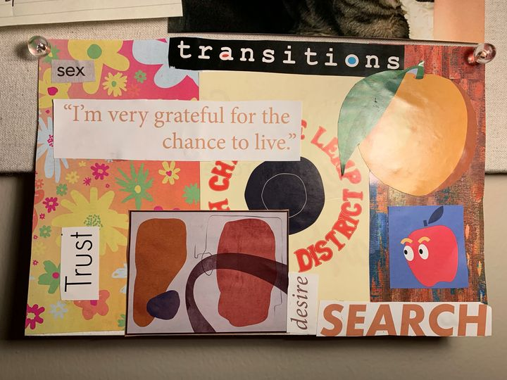 Transitions Pastel Collage - Mary's Homemade Projects