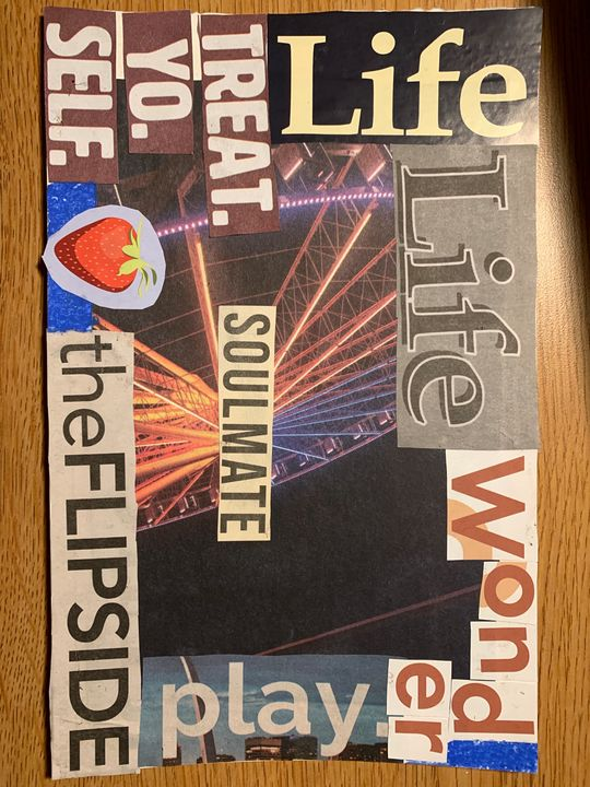 LIFE Collage - Mary's Homemade Projects
