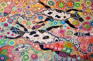 Awurrapun – Crocodile Story - Cynthia Farr BARUNGGUM