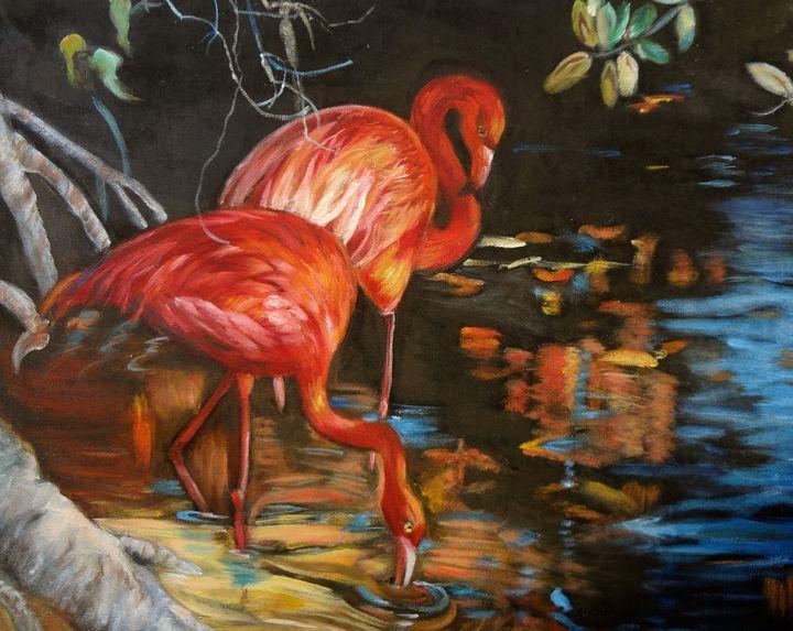 Flamingoes - Jennylee