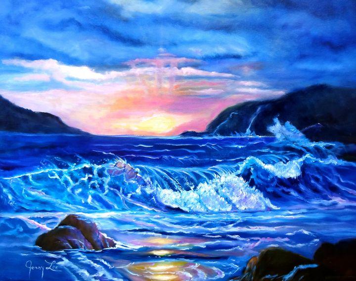 BEACH WAVES - Jennylee