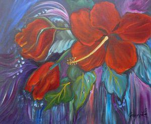 Hibiscus Whimsy