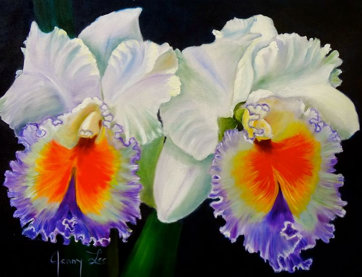 Hawaiian Orchids - Jennylee