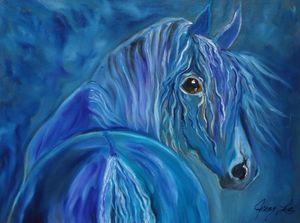 Cobalt Horse