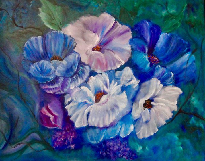 Art Deco Poppies - Jennylee