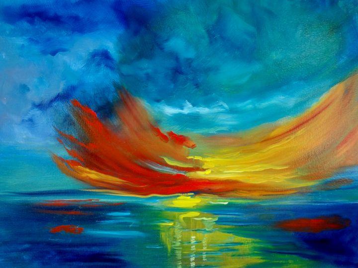 Sunset Over Hawaii - Jennylee