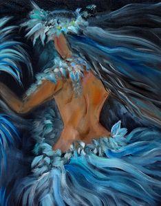Hula in Blue