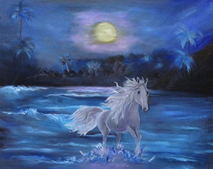 Horse in the Moonlight - Jennylee