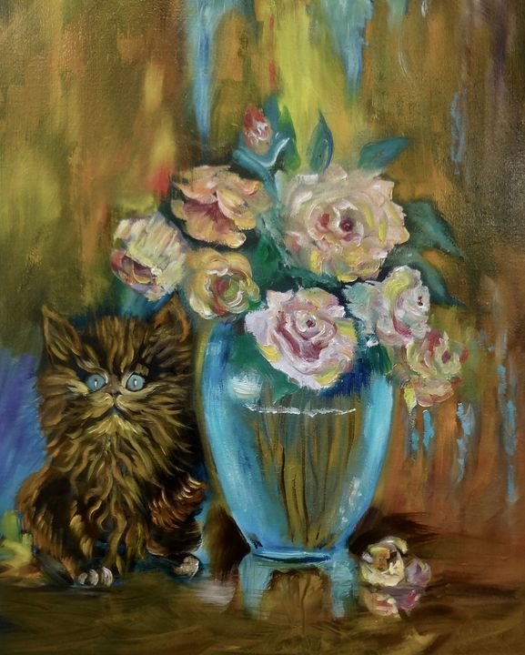 Kitty Still Life - Jennylee