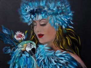 Miss Hula and the Macaw - Jennylee