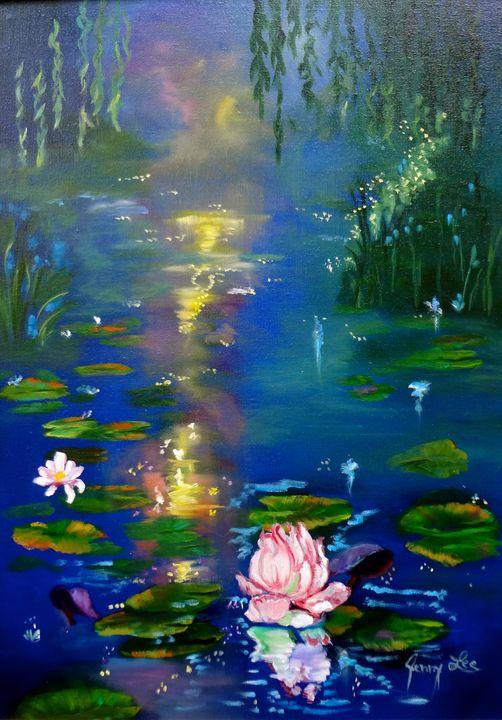 Monet Pond I - Jennylee