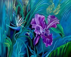 Purple Jungle Orchid