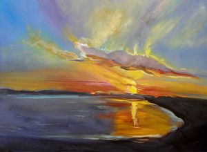 Dazzling Hawaiian Sunset