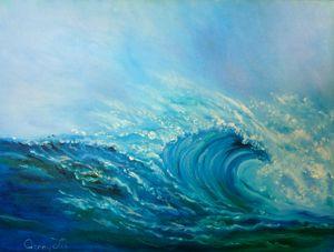 Crashing North Shore Waves