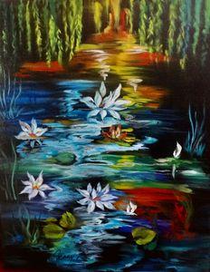 Lotus on Monet's Pond